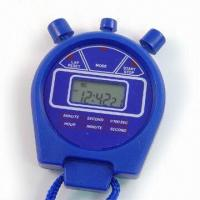 Quality Sports Timer with Alarm Function, Easy-to-Press Buttons and Six-Digit LCD Panel for sale