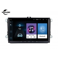 Quality ANDROID VW SKODE SEAT PASSAT AUTO HEADUNIT 2 DIN CAR NAVIGATION CAR DVD PLAYER 4G LTE 9INCH RAM1G 2G for sale