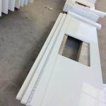 Quality Quartz kitchen surfaces solid stone kitchen countertops white quartz kitchen worktops for sale