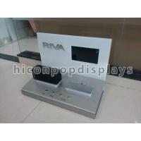 Mini Speaker Counter Display Units With Point Of Sale LCD Screen