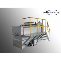 Quality Industrial Wastewater DAF Unit Free Surface Area 0-100 M3/H Large Capacity for sale
