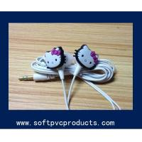 Quality Colourful Phone Decoration Accessories Mini Soft PVC Earphone Ornaments for sale