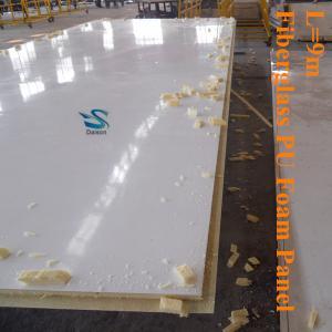 Quality Thermal Insulation Fiberglass PU Foam Panel for sale