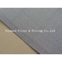 China Filtration Precision SUS 302 Woven Metal Mesh Alkali Resistance on sale