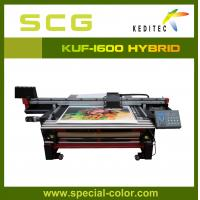 Quality 1.6M digital uv flatbed and roll to roll printer KUF1600 for sale