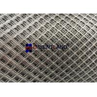 Quality Raised Expanded Mesh Screen Grating Low Carbon Steel Material High Strength for sale