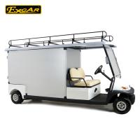 Quality 2 Person Al Rear Cargo Box Utility Golf Carts With 1 Year Warranty Time for sale