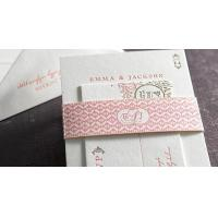 Quality Fineness wedding cards set printing service for sale