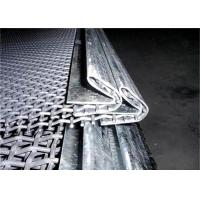Quality Hook Strip Type Manganese Woven Steel Mesh High Abrasion Resistan for sale