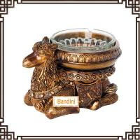 Quality lovely resin camel Ashtray resin home crafts and household decorative ashtray DA0340GE for sale