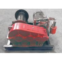 Quality Electric / Hydraulic Marine Winch Lebus Double Groove Drum With Wire Rope for sale