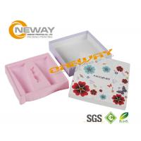 Best Clear Custom Printed Cosmetic Boxes / Cardboard Gift Boxes With Lids wholesale