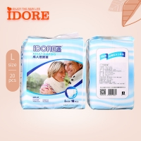 Quality Soft Airy Single Use Adults Diapers for sale
