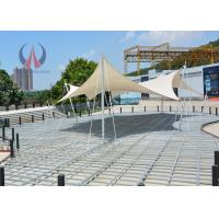 Buy Flat Stressed Shape Tensioned Membrane Structures Simple Performance Pavilion at wholesale prices