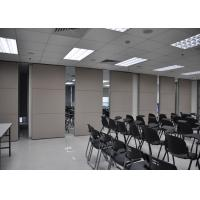 Quality Conference Room Sliding Folding Partitions Movable Walls For Art Gallery for sale