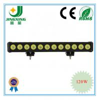 China Single row cree led light bar 120w led light bar on sale