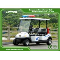 Quality 3.7KW 48V Battery Electric Security Patrol Vehicles Green Energy for sale