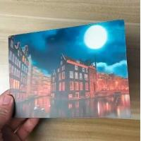 Quality OK3D printing factory supply Good Quality Custom Offset Printing Plastic PET Lenticular 3D lenticular card for sale
