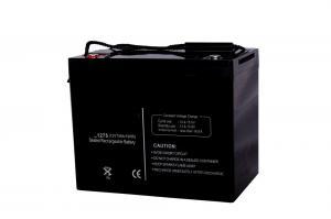 Quality High Capacity 75ah12v Agm Deep Cycle Marine Battery for sale