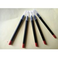 Quality Long Lasting Red Lipstick Pencil PVC High Performance Simple Design ISO for sale
