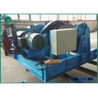 Quality 1-10 Tons Fast Speed Double Cable Drum Electric Piling Winch With Wire Rop for sale