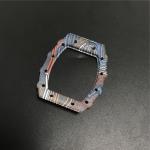 Quality Unique Watch Display Case CNC Carbon Fiber Parts Rainbow Watch Silk Printing Logo for sale
