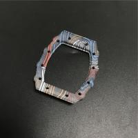 Buy cheap Unique Watch Display Case CNC Carbon Fiber Parts Rainbow Watch Silk Printing from wholesalers