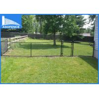 China High Security Decorative Chain Link Fence Pvc Coated For Basket Playground on sale