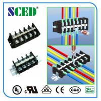 Buy PCB Panel Mount Terminal Block 11.50mm 600V 30A PC Black Screw Terminal at wholesale prices
