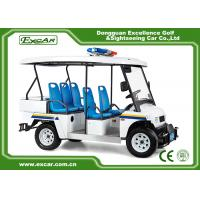 Quality White 5 Seater Battery powered Electric Patrol Car 5KW 72V for sale