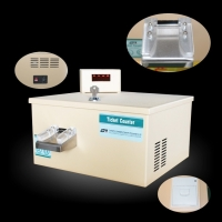 Quality Ticket Eater Redemption Ticket Counting Machine With Printer for sale