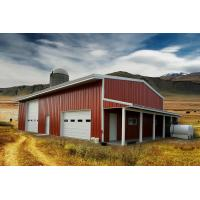 Quality Residential Agricultural Metal Buildings 30'x50'x14′ Customized Design for sale