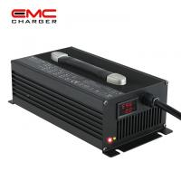 Quality 12V 50A Aluminium Alloy with Fan lithium battery charger for electric vehicle CE for sale