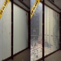 China Smart Glass Conference Rooms power off opaque power on transparent  EB GLASS on sale
