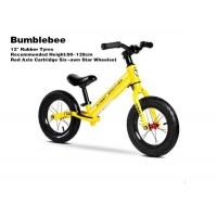 """Quality 12""""  High Quality Aluminum Kids Balance Bike No Pedal Baby Push Bike With Red Axis Cartridge Hub Wheelsets Yellow for sale"""