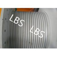 Quality Hydraulic Crane Winch For Boat / Truck , Windlass Anchor Winch With Lebus Drum for sale