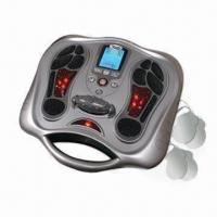 Quality Electropedic/Electronic Foot Massager, Easy-to-read Blue LED Display for sale