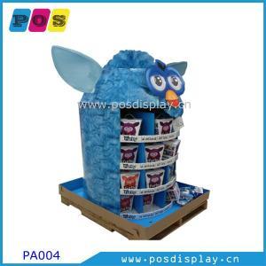 China free standing cardboard pop pallet display on sale