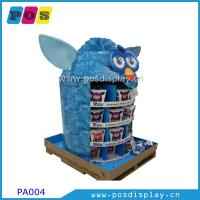 China free standing cardboard pop pallet display on sale