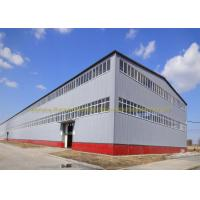 Quality Anti Rust Warehouse Steel Structure Prefab Metal Buildings Hot Dip Galvanized for sale
