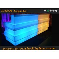 Best Outdoor party led illuminated furniture combined led bar counter rechargeable commercial furniture wholesale