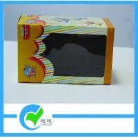 Quality Toy Paper Cardboard Packaging Boxes with PET Window Box, CMYK 4 Color Printing for sale