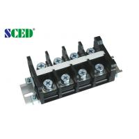 Quality PCB Barrier Terminal Block Connector For Switch , Power Supply 26.00mm , 600V 101A for sale