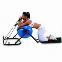 Quality AB Exercise Ball with Two-resistance Band Handle and Smooth Natural Movements for sale