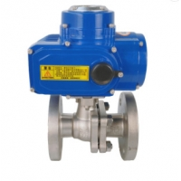 Quality Motorized High Pressure 12v DN15 DN50 Cast Iron Ball Valve for sale