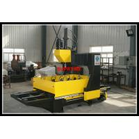 Quality CJ series Gantry type CNC plate drilling machine with double worktable for sale