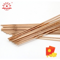 Quality 2.0x500mm Low Phos Copper Brazing Alloy Bcup 2 for sale