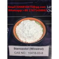 Quality Best Quality Fast Muscle Gains Stanozolol / Winstrol White Steroids With Factory Price for sale
