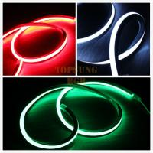 Best high quality square 24v 16*16m LED neon flex light RGB for decoration wholesale