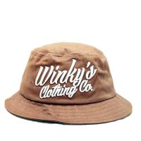 Buy cheap 100% cotton cheap customized bulk 3Dembroidered folding bucket hat size of 58-60. from wholesalers